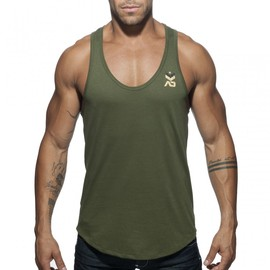 Addicted MILITARY TANK TOP
